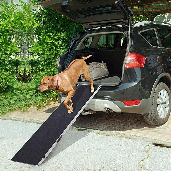 Tucker Murphy Pet Shaner Portable Bi Fold Folding 96 Pet Ramp Wayfair