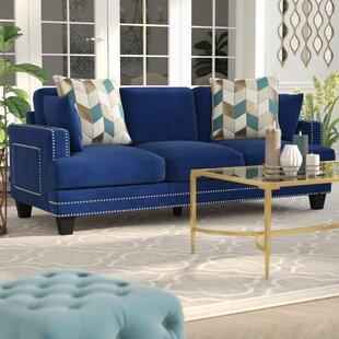 Order Dia Modern Nailhead Sofa by Willa Arlo Interiors