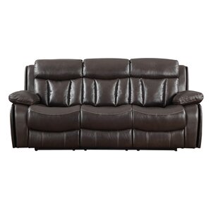 Darmstadt Leather Reclining Sofa by Darby Ho..
