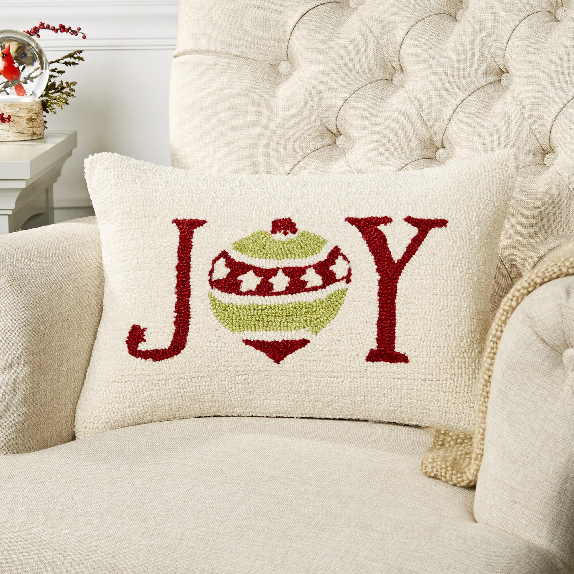 Birch Lane Jingle Joy Pillow Cover Wayfair