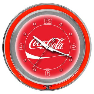 Coca Cola 14.5 Wall Clock by Trademark Global