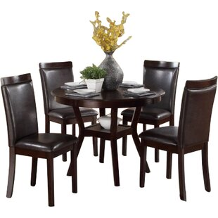 Marjorie 5 Piece Dining Set by Red Barrel Studio #1