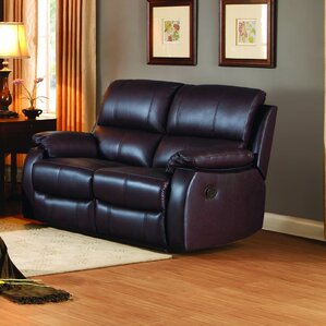 Monoceros Reclining Loveseat by Latitude Run