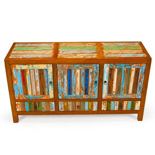 Forget Me Knot Reclaimed Wood Accent Cabinet by EcoChic Lifestyles