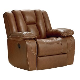 Appleton Leather Manual Glider Recliner