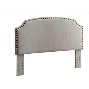Best Annabel Upholstered Panel Headboard by Charlton Home
