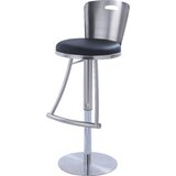 Jenele Swivel Adjustable Height Bar Stool by Orren Ellis
