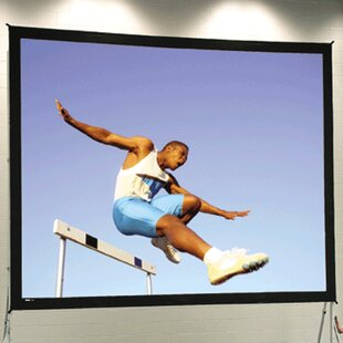 Inexpensive Portable Projection Screen By Da-Lite