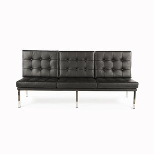 Rago Leather Sofa by dCOR design