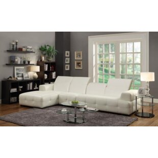 Portage Leather Sectional
