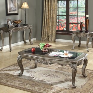 Compare Wensley 3 Piece Coffee Table Set By Astoria Grand