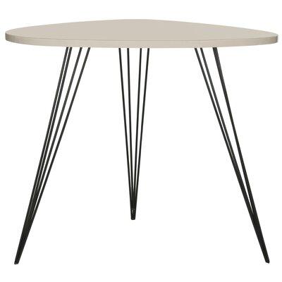 Brayden Studio Burchard End Table Color: Taupe Black