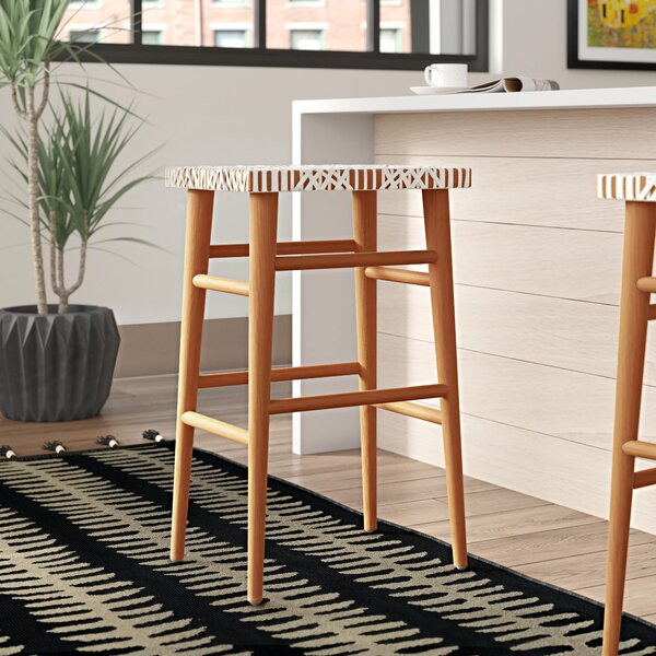 Admirable Modern Contemporary Woven Leather Strap Chair Allmodern Gmtry Best Dining Table And Chair Ideas Images Gmtryco