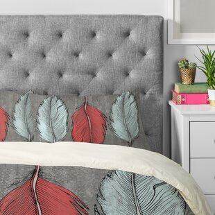 Wesley Bird Feathered Pillow Case (Set of 2)
