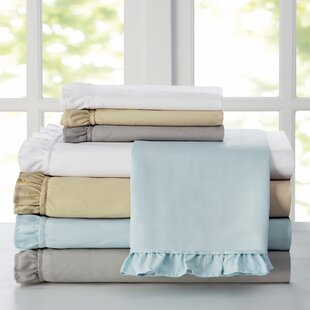 Capers Ruffle Solid Sheet Set