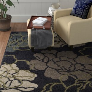 Reviews Massey Black Area Rug By Winston Porter