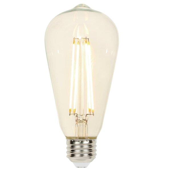 60 Watt Equivalent St20 Led Dimmable Light Bulb Warm White 2700k E26 Medium Standard Base Reviews Joss Main