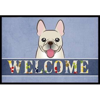 French Bulldog Welcome Non Slip