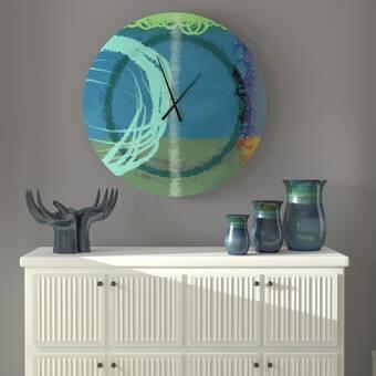 Orren Ellis Oversized Wahyudi Wall Clock Wayfair