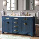 Okanogan 60 Double Bathroom Vanity by Longshore Tides