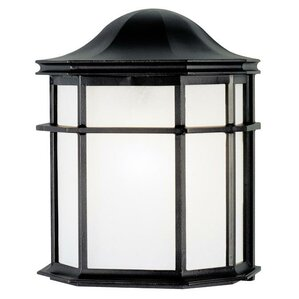 Exterior 1 Light Outdoor Flush Mount (Set Of 2)