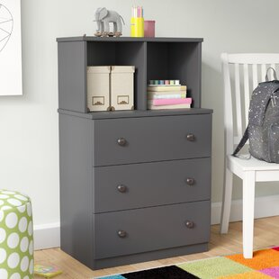 Kira 3 Drawer Chest with Hutch