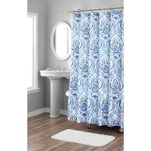 Melina Cotton Single Shower Curtain
