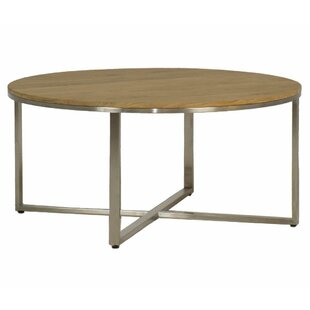Bradley Stainless Steel Coffee Table