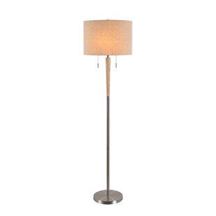 Metal floor lamps youll love wayfair vereen 58 floor lamp mozeypictures Gallery