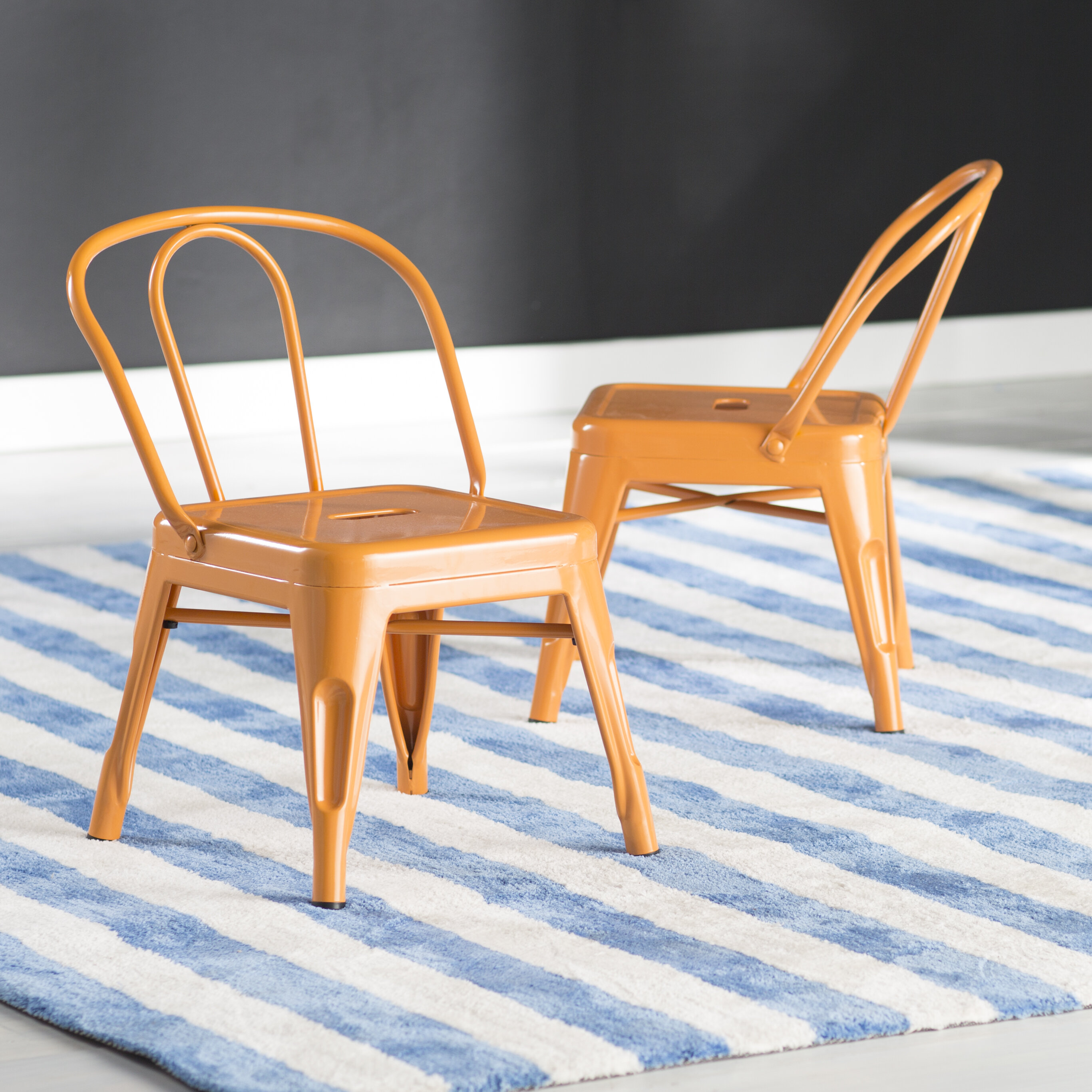 Picture of: Desk Orange Toddler Kids Chairs Seating You Ll Love In 2020 Wayfair