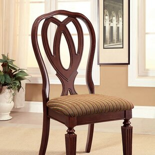 Skaggs Upholstered Dining Chair (Set of 2) Astoria Grand