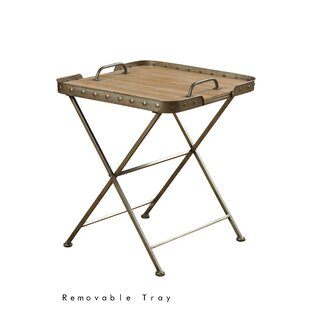 Waycross Folding End Table