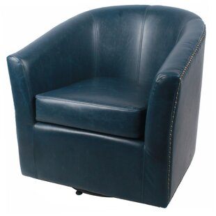 Rabinowitz Swivel Barrel Chair by Winston Porter