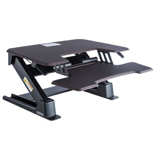 Reviews Cayuga Height Adjustable Standing Desk By Symple Stuff