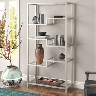 Modern Contemporary Brushed Nickel Bathroom Shelf Allmodern