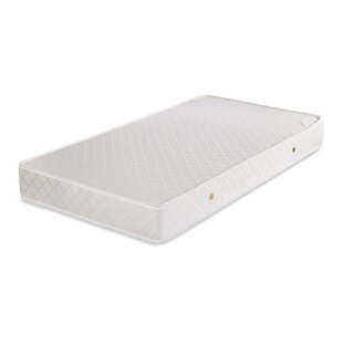 Price Check Eco Friendly 2 in 1 Soy Foam 5.75 Crib Mattress with Natural Coconut Fiber & Cotton Layer By L.A. Baby