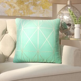 Johansen Foil Geo Throw Pillow