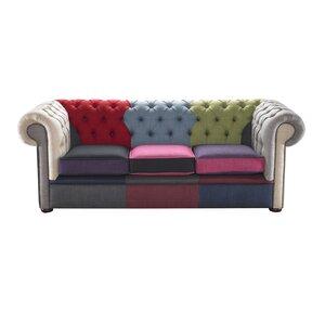 3-Sitzer Sofa Chesterfield von Portabello Interi..