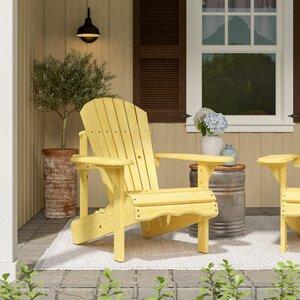Raphaelle Solid Wood Adirondack Chair