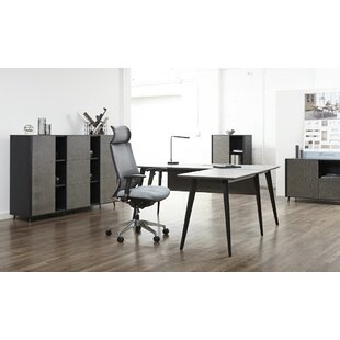 Francella 4 Piece Desk Office Suite