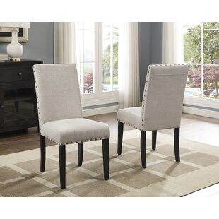 Check Prices Charandeep Uphostered Dining Chair (Set of 2) by Gracie Oaks Reviews (2019) & Buyer's Guide