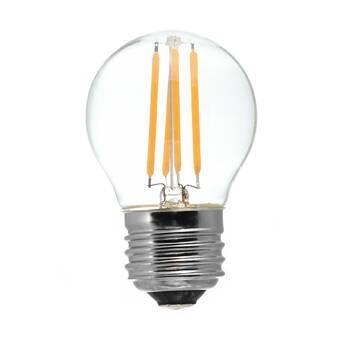 Symple Stuff 60 Watt Equivalent G25 Led Dimmable Led Frosted Glass Globe Light Bulb 2700k E26 Medium Standard Base Set Of 24 Wayfair