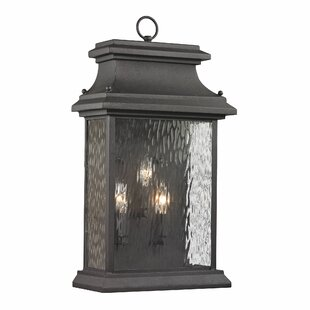 Maxen 3-Light Outdoor Wall Lantern By Alcott Hill Outdoor Lighting