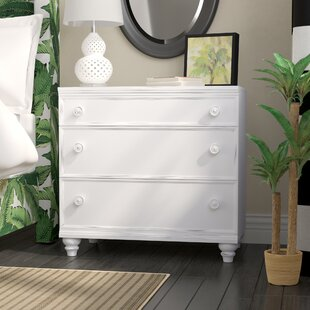 Comparison Mary Jane 3 Drawer Bachelor's Chest By Beachcrest Home