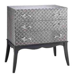 Dominick 3 Drawer Accent Chest
