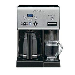 Programmable 12-Cup Coffee Maker with Hot Water System