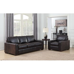 Shop For Priscila 2 Piece Leather Living Room Set by 17 Stories Reviews (2019) & Buyer's Guide