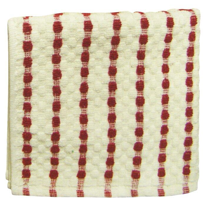 Alcott Hill Striped Cotton Tea Towel Reviews Wayfair