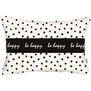 Alemany Rectangle Dots Printed Lumbar Pillow Cover