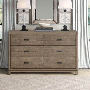 Hunziker 6 Drawer Double Dresser